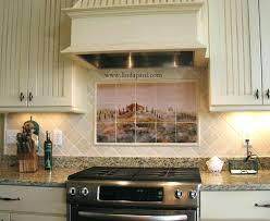 french country kitchen backsplash tile