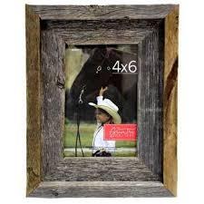 4 x 6 barnwood photo frame
