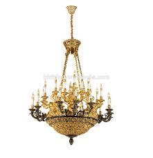Antique French Pendant Light French Baroque Design 10 Lights Antique Cooper Chandelier European Bronze Golden Basket Pendant Lighting Buy French Design Chandelier Antique Cooper