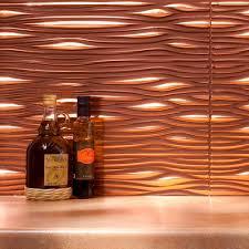 copper slate subway backsplash tile
