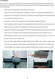 Hi Macs Adhesive Chart Hi Macs Fabrication Guide Lg Hausys America Inc Sku