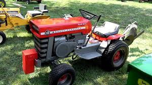 Vintage massey garden tractors