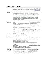 resume for dummies pdf resume pdf free download
