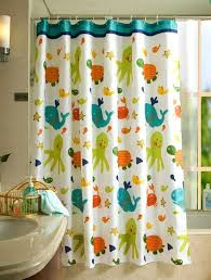 kids bathroom shower curtains photo 5 of 8 kids bath curtains 5 kids shower curtain bathroom fabric fish tortoise shower chair for elderly