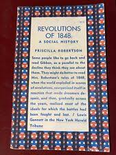Revolutions of 1848 : A Social History by Priscilla Robertson (1968, Trade  Paperback) for sale online | eBay