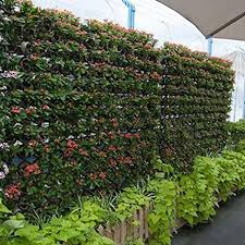 2 pocket hanging vertical garden wall