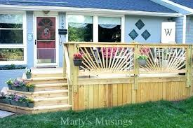 how to build deck railings building railing a sunburst musings installing i63