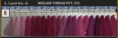 Spun Polyester Thread Shades Neelam Thread