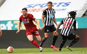 Andy Robertson makes surprise Newcastle United prediction ahead of Liverpool  visit