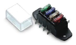looking for a simple, fused power distribution block for smaller motorcycle fuse block kit at Motorcycle Fuse Box