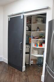 New pantry door installed.
