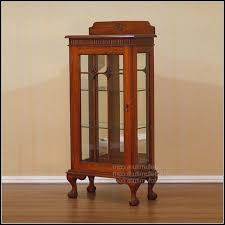 small curio cabinet with glass doors luxury small curio cabinet with glass doors cabinet home