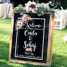 Custom Welcome Signs Rustic Wedding Signs Welcome Wedding Signs