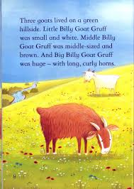 array learning is fun first readers the three billy goats gruff rh learningisfun