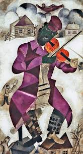 marc chagall the green violinist 1923 24