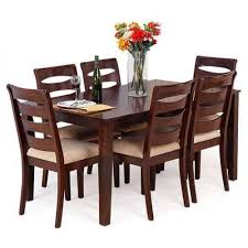 wooden dining table. Perfect Table Rubber Wooden Dining Table To A