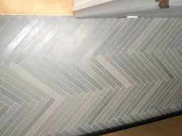 herringbone tile floor. Herringbone Grey Tile Floor Floors F