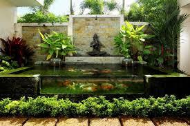 Small Picture Backyard Contemporary Water Garden Design Ideas Landscaping