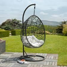 retiro rattan egg chair garden swings