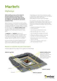 Design Manual For Roads And Bridges Volume 2 Weber Bedding Mortars By Weber Issuu