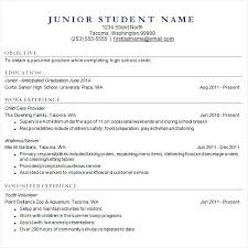 College Resume Format Sample High School Resume College Resume
