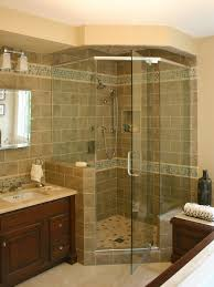 bathroom ideas corner shower design: saveemail emily elizabeth interior design dbcda  w h b p traditional bathroom