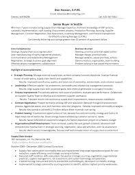 Fashion Resume Template Rare Buyer Objective Retail Senior Example ...
