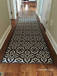new hall runner an indooroutdoor rug with a tile look hall rugs n41 hall