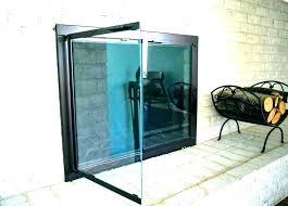 fice glass door cement front doors nice parts fireplace replacement d