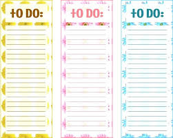 Cute To Do List Template Pdf Daily Calendar And Skincense Co