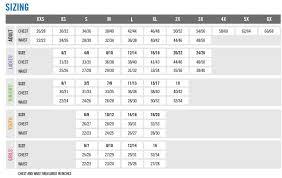 Holloway Apparel Size Chart Sizing Chart Holloway