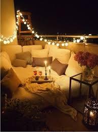 balcony lighting decorating ideas. Reading Nook Small Balcony Ideas Night Lighting Decorating S