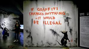Getting inside the secret world of Banksy, Public Artist No. 1