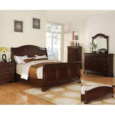 Sleigh Bed Bedroom Sets Cameron 5 Pc Bedroom Set