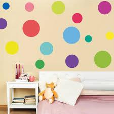 23 Stks Multi Size Diy Kleur Stippen Muurstickers Art Cirkel Stippen