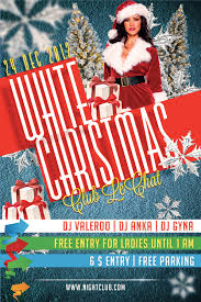 psd flyer white christmas by printdesign on psd flyer white christmas 2 by printdesign