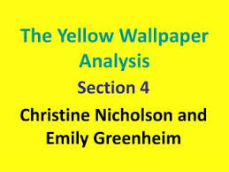 ppt feminist criticism of the yellow and the awakening the yellow analysis