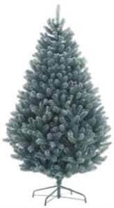Northern Christmas Trees Quality Artifical Frosted Blue Spruce Artificial Blue Spruce Christmas Tree