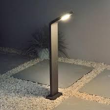 garden lighting bollards. Bollard Light Powder Coated Graphite Grey Finish. Garden Lighting Bollards