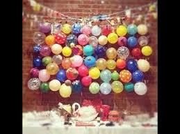 Balloon Decoration Ideas For Birthday Party At Home For Husband Simple Balloon Decoration Ideas At Home