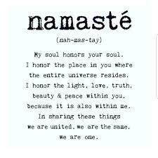 Every yoga class ends with the instructor saying Namaste, but what does namaste  mean? Here, some yoga instructors share how they … | Namaste meaning,  Namaste, Words