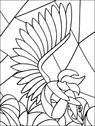 Angel Of Sorrow Stained Glass Coloring Page Free Printable