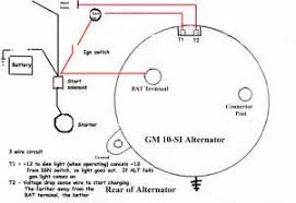 similiar typical gm alternator wiring diagram keywords shows how to wire up an internal regulated gm alternator