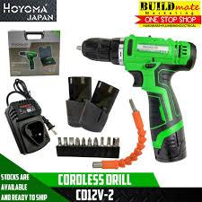 philippines hoyoma cordless drill cd12v 2 green