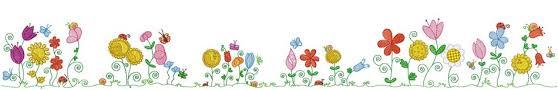 spring flowers border clipart.  Border Spring Flowers Clip Art Border  Gallery Intended Clipart I