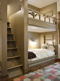 Basic built-in bunk bed. Houzz readers loved the custom, grown-up color of  this built-in bunk bed. Several even wanted this space-saving solution for  their ...