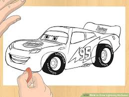 lightning mcqueen drawing. Simple Drawing Image Titled Draw Lightning McQueen Step 6 On Mcqueen Drawing O