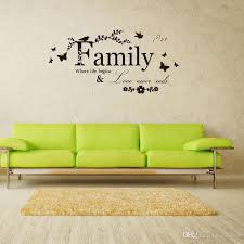 wall stickers with words fresh family letter art words wall sticker house living room wall decor