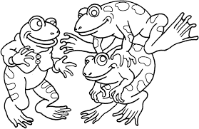 Small Picture Frogs Coloring Pages Cecilymae