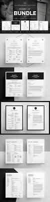 best ideas about create a cv curriculum vitae resume cv bundle black collection